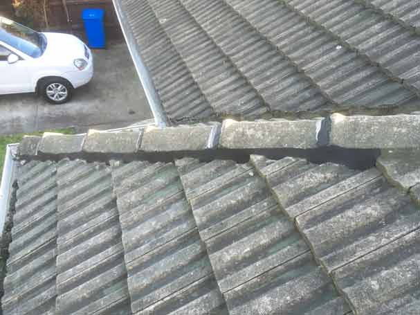 Roof rebed and repoint
